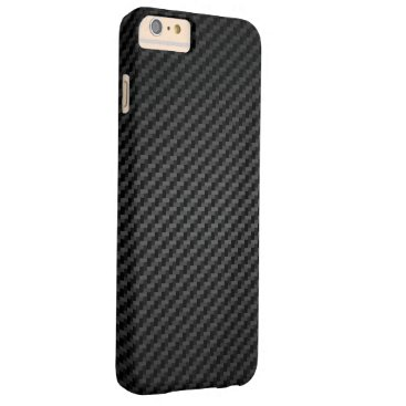 bartonleclaydesign Motor Racing Carbon Fibre Barely There iPhone 6 Plus Case