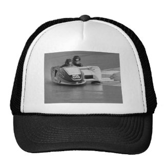 Motor racing sidecar outfit trucker hat