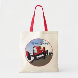 Motor Racing Tote Bag