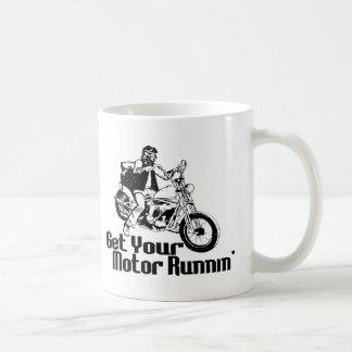 Motor Runnin Classic White Coffee Mug