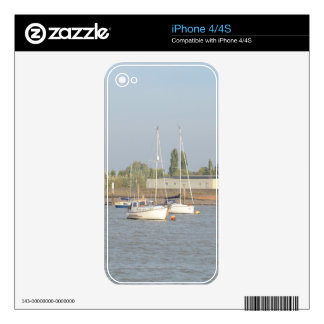 Motor Sailer Misbehave Skin For The iPhone 4S