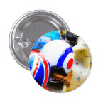 Motor Scooter Helmets Button Badge
