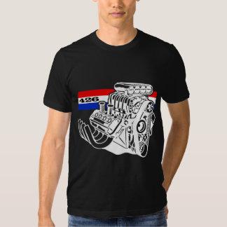 Motor soplado 426 HEMI de V8 Playera
