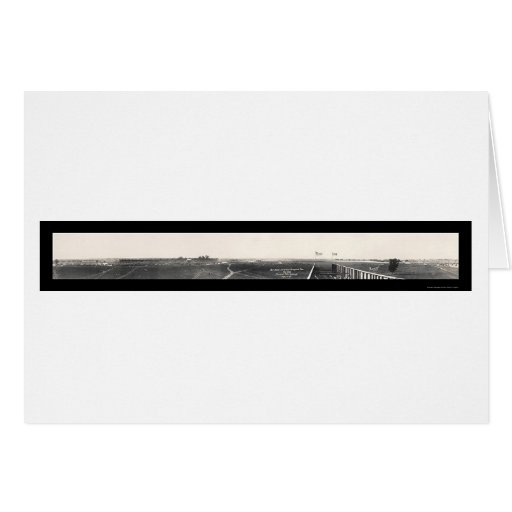 Motor Speedway Race Photo 1916 Greeting Cards