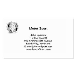 Motor Sport wheel Business Card