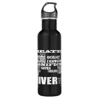 Motor Sports Racing Drivers Greatest Driver World 24oz Water Bottle