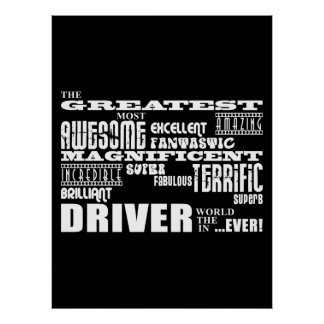 Motor Sports Racing Drivers Greatest Driver World Poster