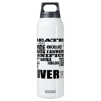 Motor Sports Racing Drivers Greatest Driver World 16 Oz Insulated SIGG Thermos Water Bottle