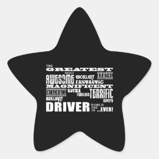 Motor Sports Racing Drivers Greatest Driver World Star Sticker