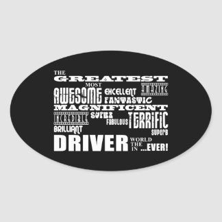 Motor Sports Racing Drivers Greatest Driver World Oval Sticker