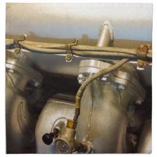 Motor sub servilletas imprimidas