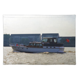 Motor Yacht Akwana Placemat