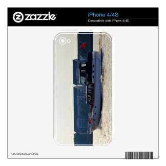 Motor Yacht Akwana Decals For iPhone 4S