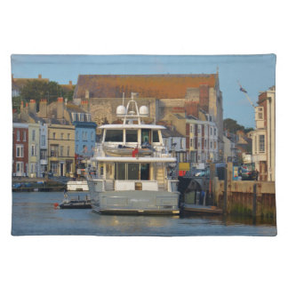 Motor Yacht In Weymouth Placemat