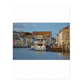 Motor Yacht In Weymouth Postcard