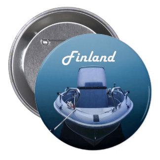 Motora en botón de la niebla azul y gruesa pin redondo de 3 pulgadas