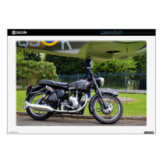 "Motorbike And Spitfire 17"" Laptop Skins"