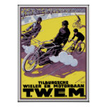 Motorbike & Bicycle Race Poster