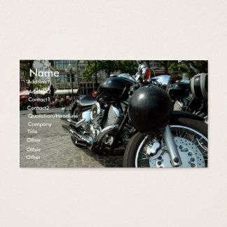 Motorbike Business Card
