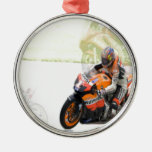 Motorbike Christmas Ornament