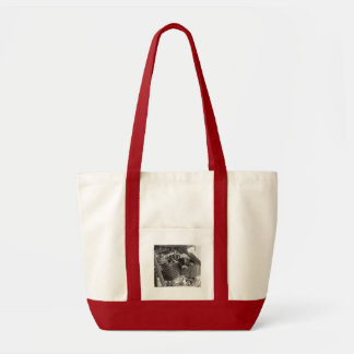 motorbike engine tote bag