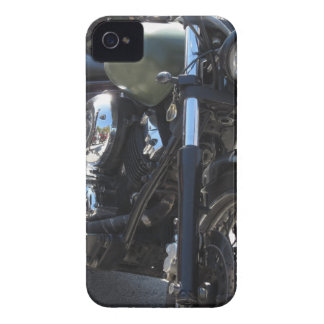 Motorbike in the parking lot . Outdoors lifestyle iPhone 4 Case-Mate Case