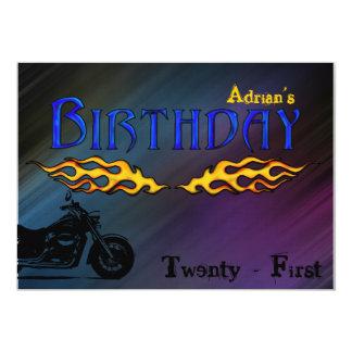 Motorbike invitation
