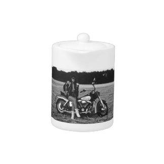 Motorbike Pinup Girl