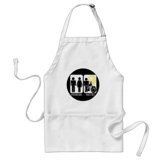 Motorbike Problem Solved Adult Apron