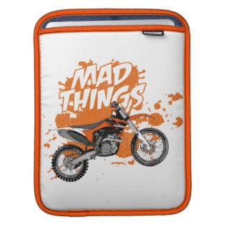 Motorbike racing sleeve for iPads