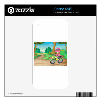 Motorbike Skin For The iPhone 4S