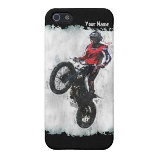 Motorbike trials case for iPhone SE/5/5s