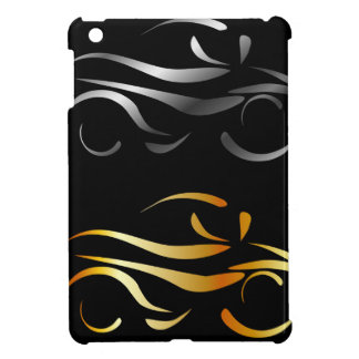 Motorbike with abstract lines cover for the iPad mini