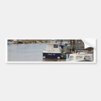 Motorboat Catch 22 Bumper Sticker
