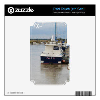 Motorboat Catch 22 iPod Touch 4G Decals
