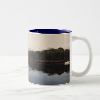 Motorboat on the Water Coffee Mugs