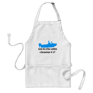 Motorboating Champ 2009 Adult Apron