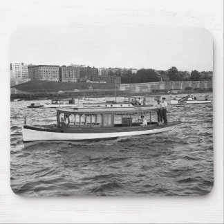 Motorboating on the Hudson River, 1910 Mouse Pad