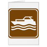 Motorcraft / Pleasure Boating Highway Sign Card