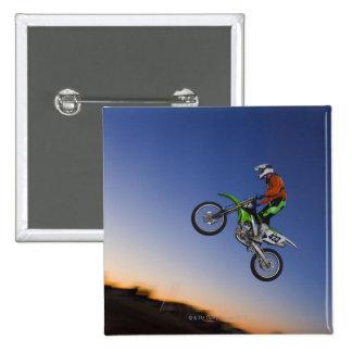 Motorcross Rider Pins