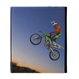 Motorcross Rider iPad Folio Cases