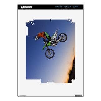 Motorcross Rider iPad 3 Skin