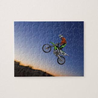 Motorcross Rider Jigsaw Puzzle