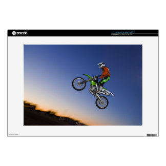 Motorcross Rider Skin For Laptop