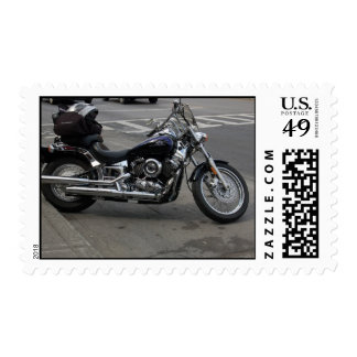 Motorcycle 2 postage stamp