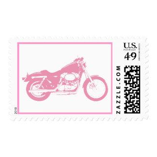 motorcycle-309413  motorcycle pink bike motorbike stamps