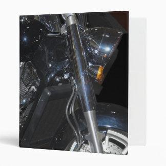 motorcycle 3 ring binder