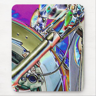 Motorcycle | Abstract Art Mouse Pad