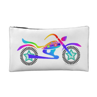 MOTORCYCLE Accessory Clutch Cosmetic Bag