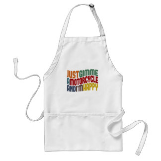 Motorcycle Adult Apron